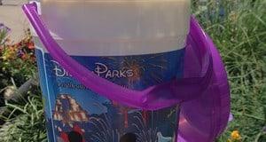 Enjoy a bucket of popcorn in the Magic Kingdom