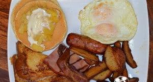 The Big Kahuna Breakfast at Kona Cave