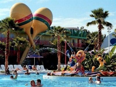 All Star Music Resort Pool