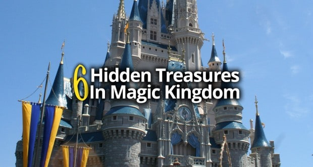 6 Hidden Treasures At Magic Kingdom