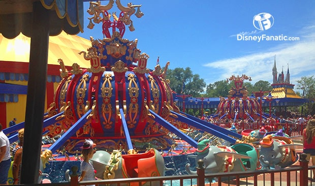 Dumbo Flying Elephant - Magic Kingdom