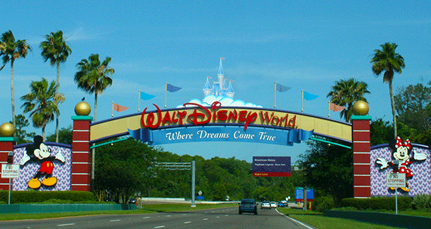 Walt Disney World Park Entrance