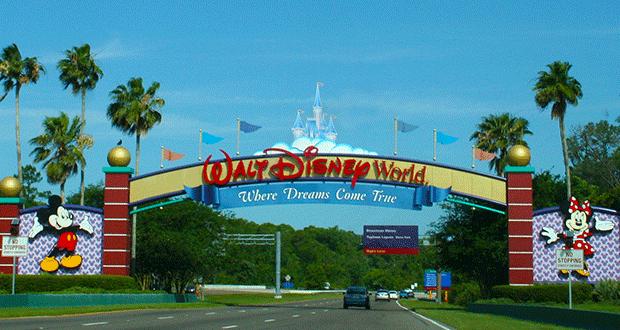 Walt Disney World Park Entrance