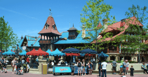 Exterior of Pinocchio Village Haus Restaurant