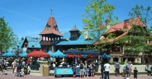 Exterior of Pinocchio Village Haus Restaurant