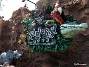 Rainforest Cafe Restaurant
