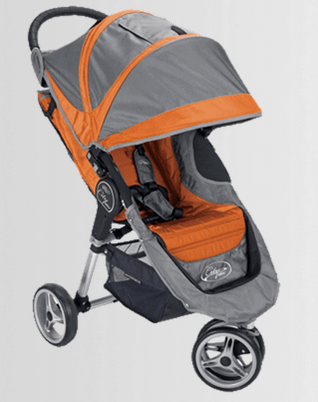 Single stroller available from private stroller rental company
