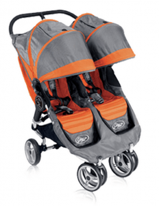 Double stroller available from private stroller rental company