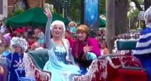 Anna & Elsa Arrive at Hollywood Studios