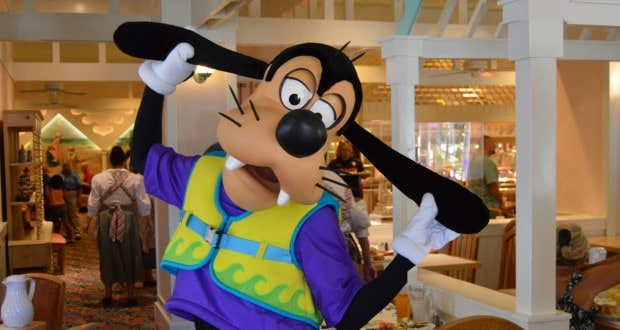 Goofy at Cape May Cafe