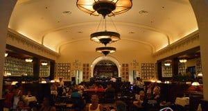 Interior of The Brown Derby