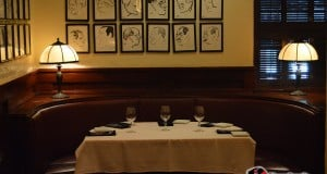 Cozy Booth at The Brown Derby