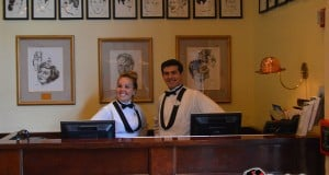 Staff at The Brown Derby