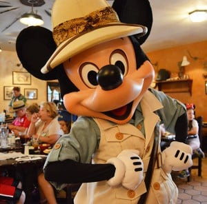 Mickey At Tusker House