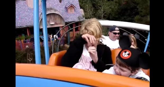 Scared Granny