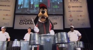 Goofy on the Drums