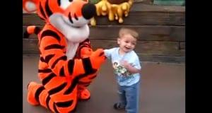 Boy meets Tigger