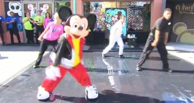 Dancing Mickey