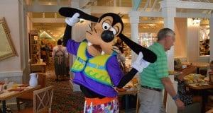Goofy at Cape May Cafe