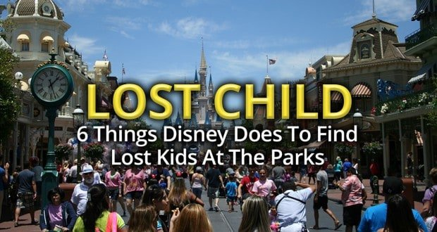 Lost Child At Disney