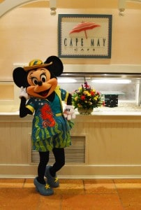 Minnie at Cape May Cafe