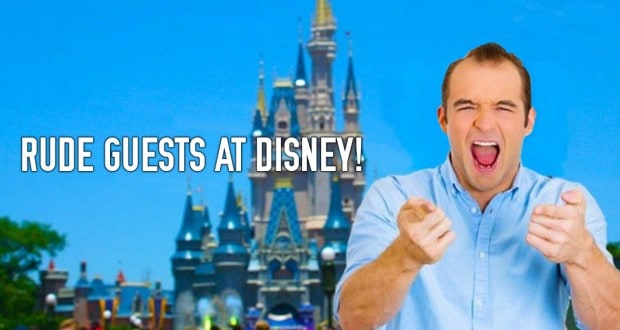 Rude Guests At Disney