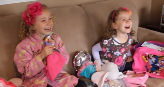 Sisters suprized with Disney Trip