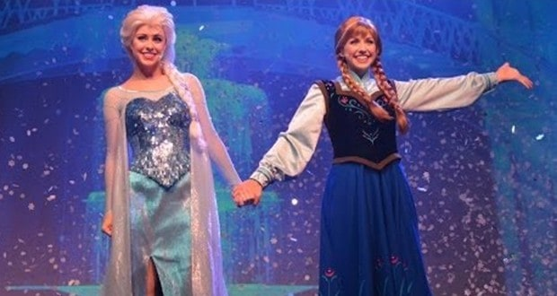 Frozen Sumer Fun Evening Show