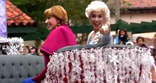 Frozen Summer Fun Parade At Hollywood Studios