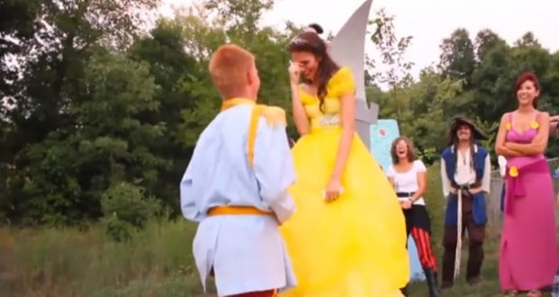 Disney Proposal Bell and the Beast