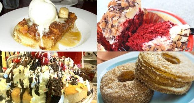 Desserts at Disney