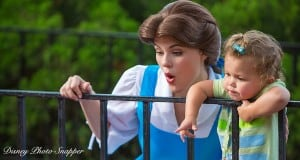 Belle and a Little Girl