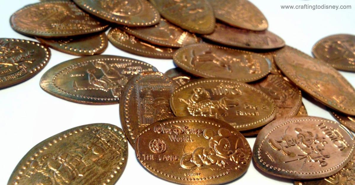 500 Elongated Pennies