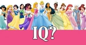 Disney Princess IQ?