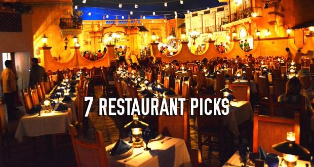 Top 7 Restaurant Picks At Epcot Reviews And Tips