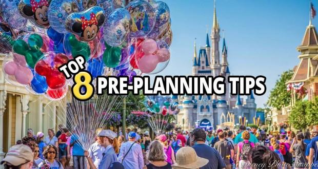 Top 8 Pre-Planning Tips