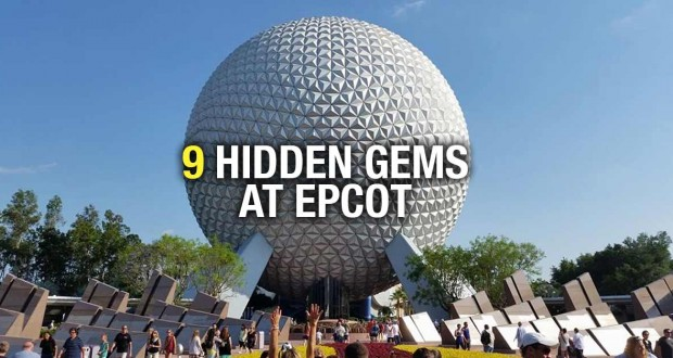 9 Hidden Gems At Epcot