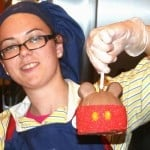 Candied Apple At Big Top Treats