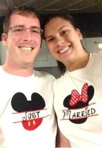 Honeymooners At Disney