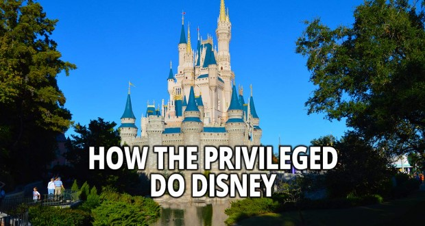 How The Privileged Do Disney