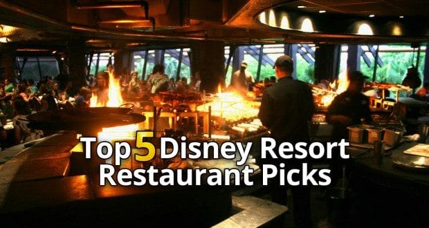 Top 5 Restaurant Picks At Disney Resorts Reviews And Tips