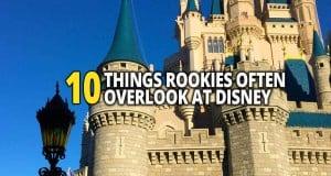 10 Things Rookies Overlook At Disney