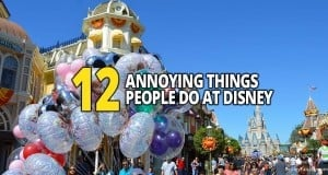 12 Annoying Things People Do At Disney