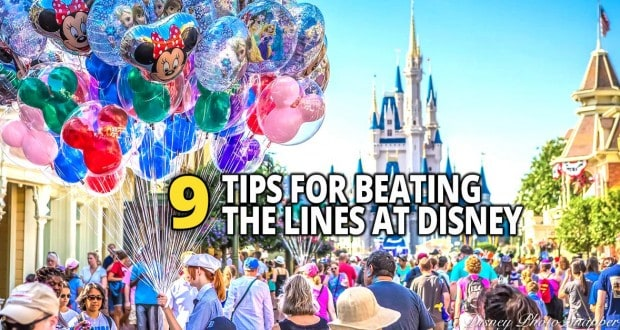 9 Tips For Beating The Lines At Disney