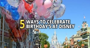 Birthday's At Disney