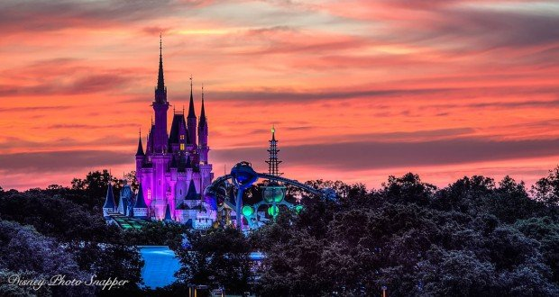 Castle and Tomorrowland