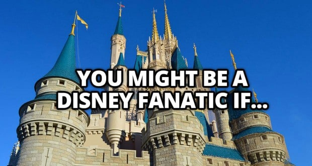 You Might Be A Disney Fanatic If...