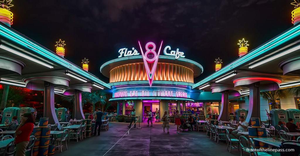 Flo's V8 Cafe - Disneyland
