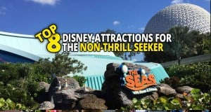 Top 8 Disney Attractions For Non-Thrill Seekers