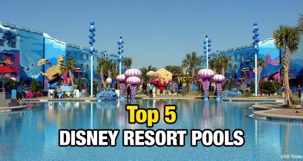 Top 5 Disney Resort Pools